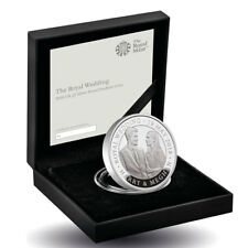 2018 Great Britain The Royal Wedding Piedfort Silver Proof £5 OGP SKU53790