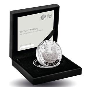 2018 Great Britain £5 1.7863 oz The Royal Wedding Piedfort Gem Proof Coin OGP