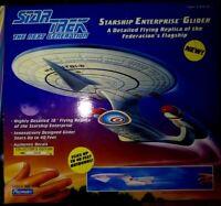 PLAYMATES STARSHIP ENTERPRISE GLIDER,STAR TREK NEXT GENERATION,LTD.ED.,NEW,MIB