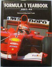 Formula 1 Yearbook 2001-02 Grand Prix Annual Statistics Results Circuits Maps +