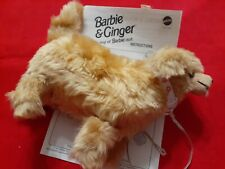Barbie Ginger Pet Dog 1997 walks and growls loose tested with directions