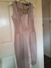FOREVER UNIQUE Polythurane Bodycon Dress Size 10