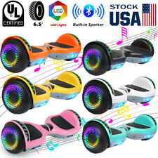 """New listing 6.5"""" Bluetooth Hoverboard Self Balancing Scooter Without Bag USA"""