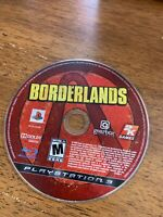 Borderlands for Sony PlayStation 3 PS3, game disc only, free shipping