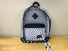 Disney Minnie Mouse Super FX White Bow Dot Backpack Jansport 1,550 Cubic Inches