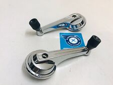 XR GT FORD FAIRMONT FALCON WINDOW WINDER HANDLE WITH BLACK KNOB PAIR