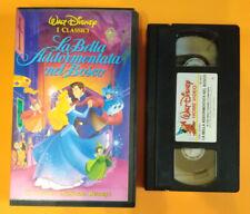 VHS Film Ita Animazione Walt Disney LA BELLA ADDORMENTATA NEL BOSCO no dvd (V28)