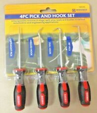 4pc Car Automotive Extra Long Hook And Pick Set O-Ring Seal Remover Craft Tool