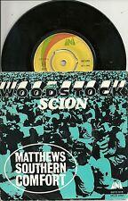 """S Matthews Southern Comfort - Woodstock (1970) SWEDEN 7"""""""