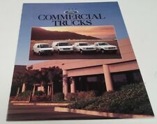 1996 FORD COMMERCIAL TRUCKS USA Sales Brochure F250 Vans etc