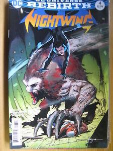 NIGHTWING #4, DC UNIVERSE REBIRTH- DC COMIC SALE.