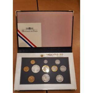 FRANCE 1999 COFFRET BE Belle Epreuve SERIE 11 Monnaies 1 centime à 100 Francs 5