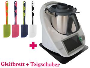 Gleitbrett + Teigschaber für den Thermomix TM5  TM6 verschiedene Farben