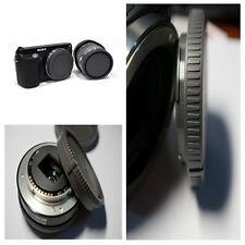 1 Set Rear Lens Cap + Camera Front Body Cover for Sony E-Mount NEX-3 NEX-5