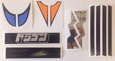 NEW Dragun Jumbo Machinder Shogun Warrior Sticker Decals Reproduction Mattel