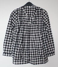 Checked 100% Cotton Tops & Blouses for Women