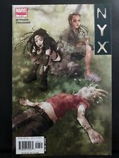 NYX #7 EARLY LAURA X-23 APPEARANCE graded 9.2 by TORPEDO COMICS raw NOT cgc