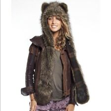 Authentic Limited Edition SOLD OUT SpiritHoods Forest Fox Plaid Festival Hippie