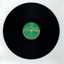 78T Marcel MERKES Disque Phonographe C'EST MERVEILLEUX Chanté ODEON 282201