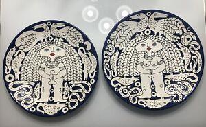 2 Ceramics Curra Brothers Hermanos Cuban Latin American Artist Arte Cuba Art