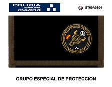 MONEDEROS POLICIALES: POLICIA MUNICIPAL DE MADRID / GRUPO ESPECIAL DE PROTECCION