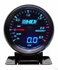 HDI Electric Boost gauge Dual PSI & BAR - vacuum turbo AEM HKS Trust Electronic