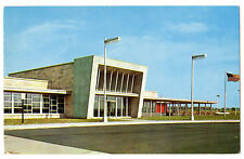 GLASS HOUSE RESTAURANT Indiana Toll Road 1956 Curteich Advertising Postacrd