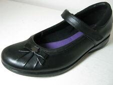 Chaussures décontractées à attache auto-agrippant en cuir pour fille de 2 à 16 ans