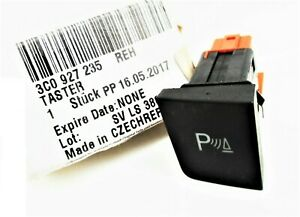 VW PASSAT CC (2009-2012) REAR PARKING SENSORS SWITCH GENUINE NEW 3C0927235