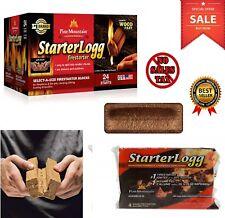 Pine Mountain Starterlogg Firestarters 6 Blocks Firestarting 24 Starts Fire Logs