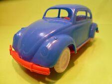 WADER? PLASTIC VINTAGE  VW VOLKSWAGEN BEETLE KAFER - BLUE L19.0cm - GERMANY USA