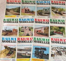 More details for big job lot x 38 railway modelling magazines - railway modeller from 1978-1995