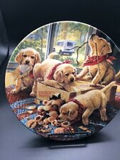 """The Bradford Exchange """"Handle with Care� 8.25 signed plate no 4450A"""