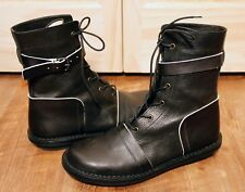 TRIPPEN - BLACK LEATHER BOOT - SIZE 41 - FREE SHIPPING!!! US 10.5