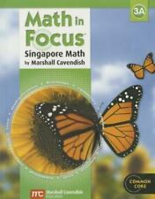 Math in Focus: Singapore Math: Student Edition, Book A Grade 3 2013 GREAT SOURCE