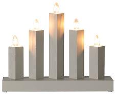 Arc à lumière à bougies éclairage pour fenêtres chandelier Suédois 23cm moderne