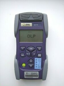 JDSU OLP-55 Optical Power Meter + soft case. Calibrated 03/20. Free shipping !!!