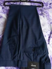 DKNY Mens formal trousers 34S New with tags. Blue