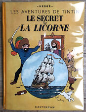 HERGE TINTIN LE SECRET DE LA LICORNE A23 1944 TBE