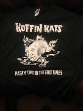 Koffin Kats/3 Different Shirts/New/Lot.Psychobilly