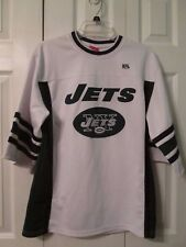 Boy's  NY JETS  NFL Football White Green Jersey (Size: XL/16-18)  Excellent!