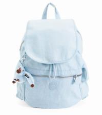 Kipling Women's Ravier Solid Backpack, Light Blue - Dots Serenity Combo BP4050