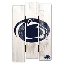"""PENN STATE NITTANY LIONS FENCE WOOD SIGN 11""""X17'' BRAND NEW WINCRAFT"""