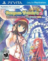 Dungeon Travelers 2 Channel: the Royal Library & the Monster Seal [PS Vita] NEW