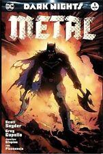 Dark Nights Metal #1 Comic Sketch Art Exclusive Greg Capullo