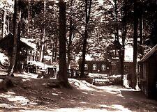 Köhlerhütte Fürstenbrunn b. Schwarzenberg i. Erzgeb.  , DDR , Ansichtskarte