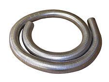 "63mm 2 1/2 "" FLEXIBLE polylock acier inoxydable tuyau 2 mètre echappement"