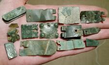 Medieval / Post Medieval Book Clasps Mounts Buckle Plates Metal Detecting Finds