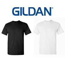100 T-SHIRTS Blank Wholesale Lot 50 Black 50 White BULK LOT S-XL