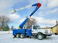 2005 International 7400 T/A 61' 2M Bucket Truck Boom Utility Truck Diesel Auto